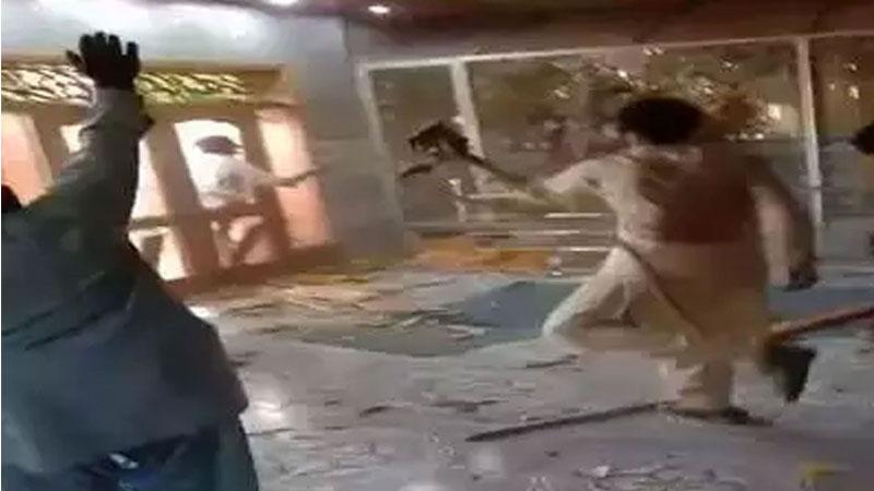 'धर्म', धर्म स्थलों के हमलावरों का ?